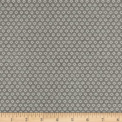 Stof Fabrics Denmark Hannah Basic Small Flower Grey