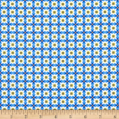 Fabric Editions Morning Glory Tile