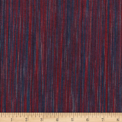 Ombre Ridge Vertical Ikat Navy/Red