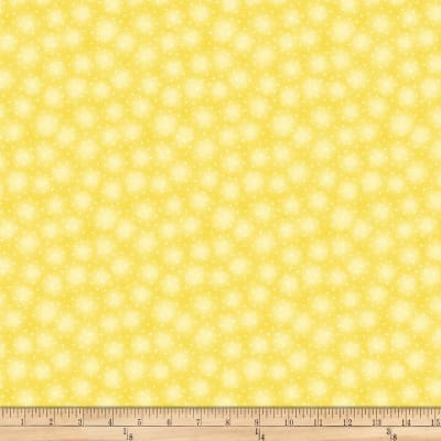 Blank Quilting Starlet Mini Star With Texture Sunshine