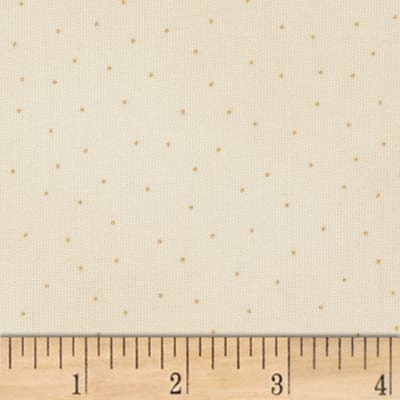 Maywood Studio Beautiful Basics Scattered Dot Natural/Taupe