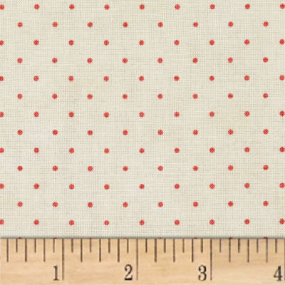 Maywood Studio Beautiful Basics Classic Dot Natural/Pink
