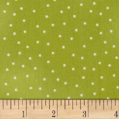 Maywood Studio Beautiful Basics Scattered Dot Green