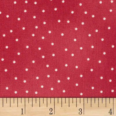 Maywood Studio Beautiful Basics Scattered Dot Rosy