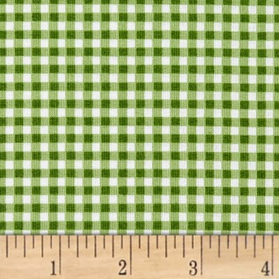 Maywood Studio Beautiful Basics Classic Check Green Grass