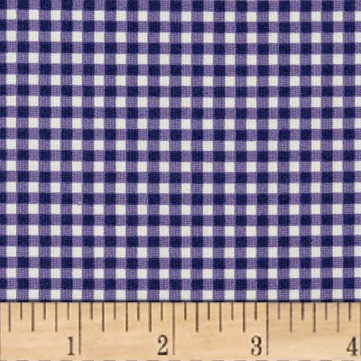Maywood Studio Beautiful Basics Classic Check Royal Purple