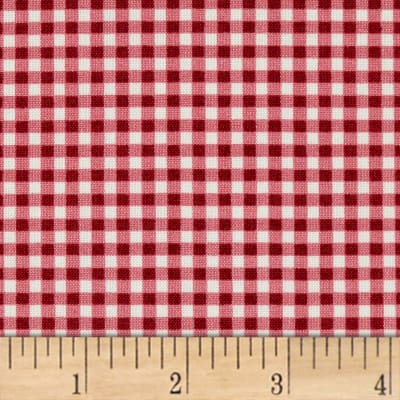 Maywood Studio Beautiful Basics Classic Check Garnet