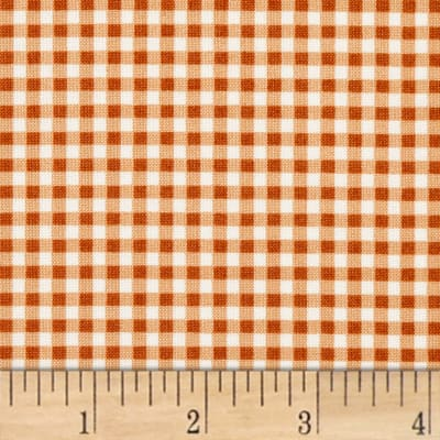 Maywood Studio Beautiful Basics Classic Check Pumpkin