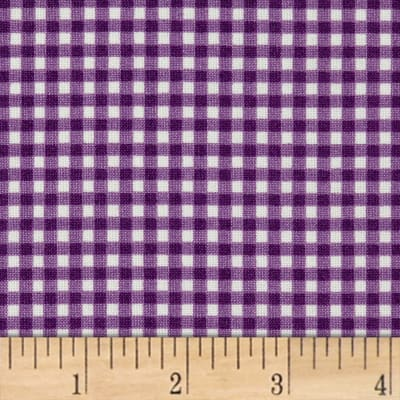Maywood Studio Beautiful Basics Classic Check Meadow Violet