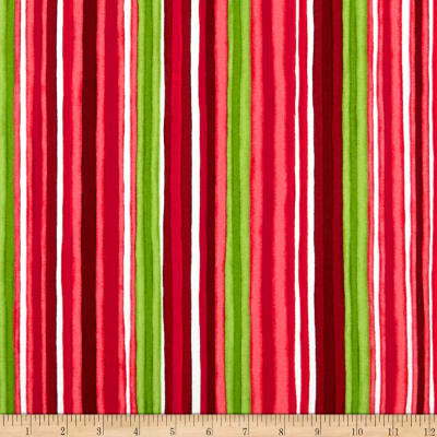 Maywood Studio Chloe Watercolor Stripe Pink/Red