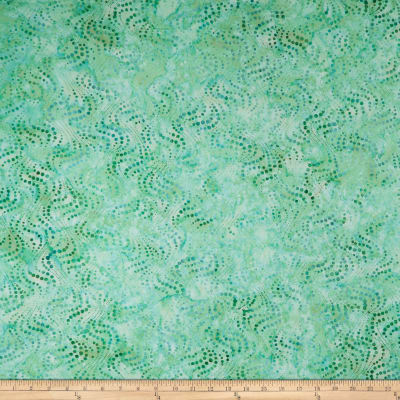 Maywood Studio Coastal Chic Batiks Flowing Bubbles Teal