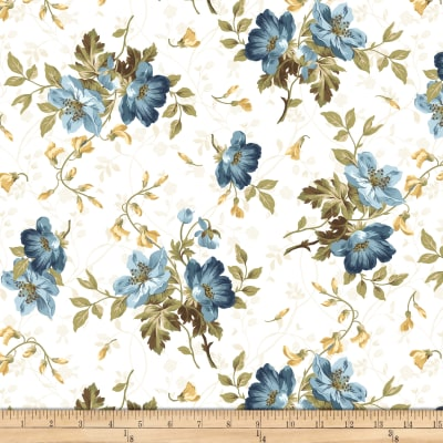 Maywood Studio English Countryside Spaced Floral Natural