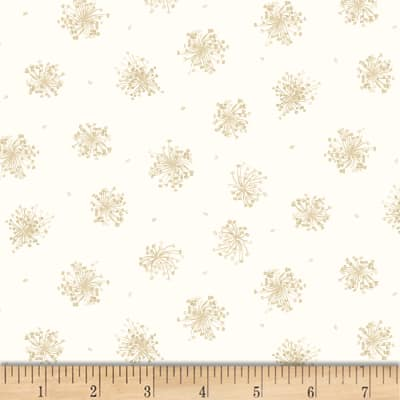 Maywood Studio English Countryside Queen Anne's Lace Natural