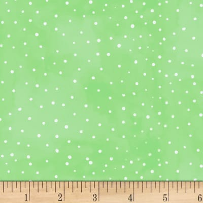 P&B Textiles Fresh Picked FarmStand Suede Dot Green