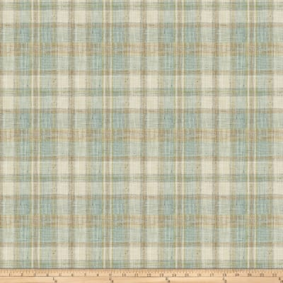 Fabricut Edgevale Plaid Robin S Egg