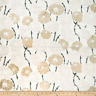 Fabricut Hanami Linen Blend Brushed Gold