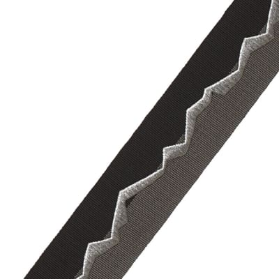 "Fabricut 2"" Inlay Trim Graphite"