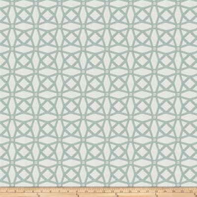 Fabricut Tension Lattice Chenille Aqua