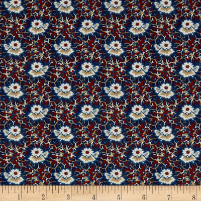 P&B French Paisley Flower Blue