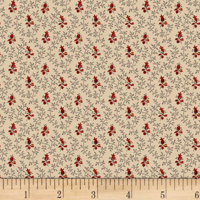 P&B French Paisley Vines & Buds Neutral