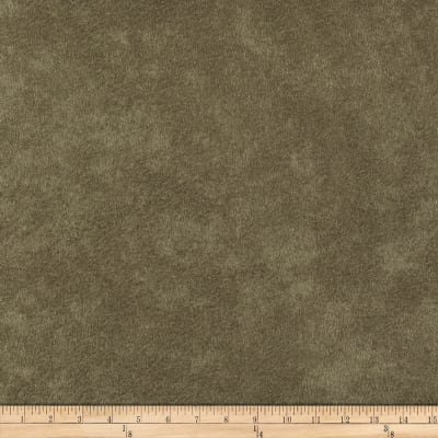Morgan Fabrics Passion Faux Suede Olive