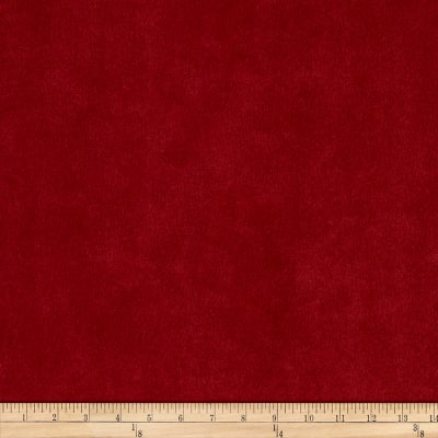 Morgan Fabrics Velvet Bella Red