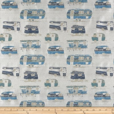 Richloom Roadtrip Jacquard Ocean