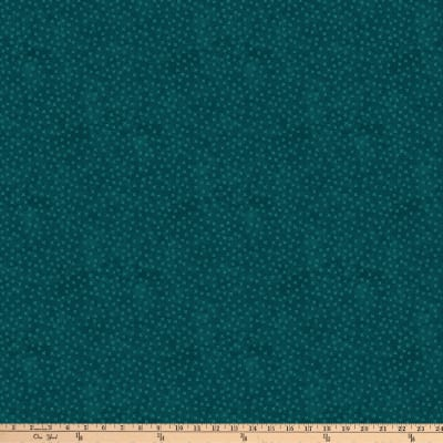 Northcott X's and O's Rainforest Little Kisses Teal