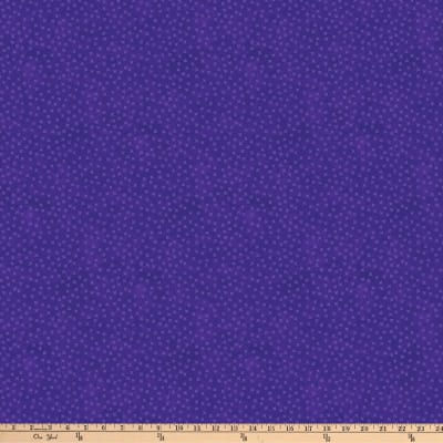 Northcott X's and O'S Wild Orchid Little Kisses Blue/Purple