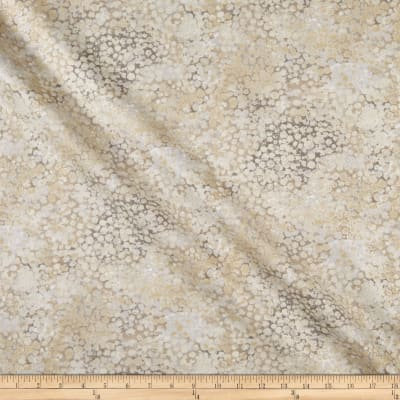 Northcott Dragonfly Moon Tranquility Circles Light Taupe