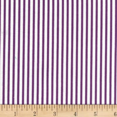 Westrade Classic Stripe White/Purple