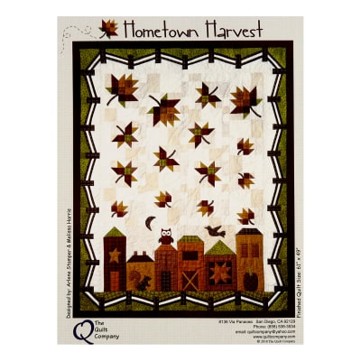 The Quilt Company CA Hometown Harvest Pattern Multi