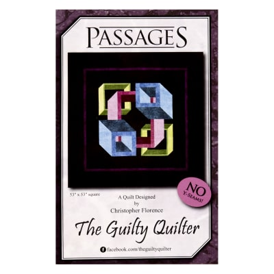 Guilty Quilter Passages Pattern Multi