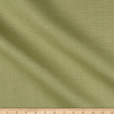 India Imports 10 oz 100% Linen Basketweave Sprout