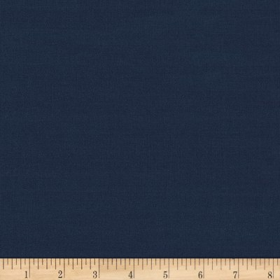 Kaufman Traveler Cotton/Poly Stretch Poplin Solid Navy