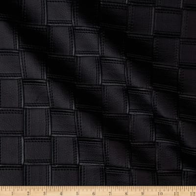 Kravet Alya Faux Leather Embroidered Black