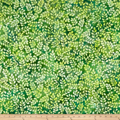 Kaufman Artisan Batik: Color Source Leaves Forest