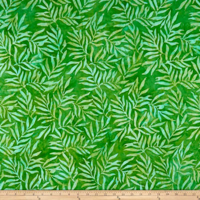 Kaufman Artisan Batik: Color Source Leaves Green