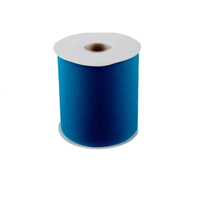 """6"""" Tulle Spool (200 Yards) Turquoise"""