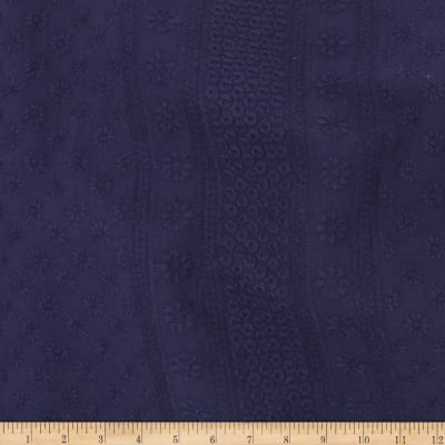 Telio Capulet Cotton Eyelet Navy