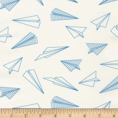 Kaufman On The Lighter Side Paper Airplanes Blue