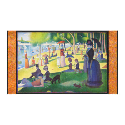 "Kaufman Seurat Sunday Afternoon 24"" Panel Park"