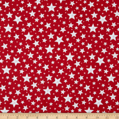 Wilmington Berry Sweet Allover Stars Red