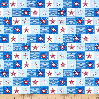 United We Stand Stars Red/White/Blue