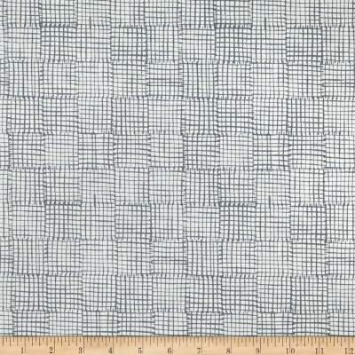 Andover Cats and Dogs Grid Grey