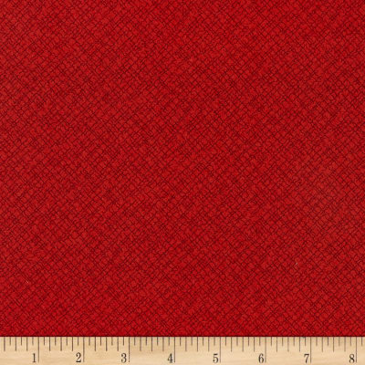 Andover 2020 Trinkets Weave Red