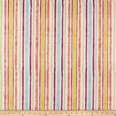 Susan Winget Modern Stripes Heavy Linen Multi
