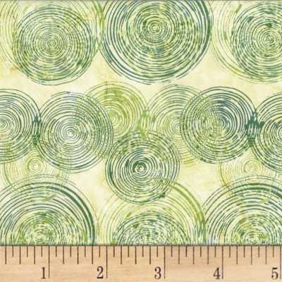 Hoffman Bali Batik Ripple Parsley
