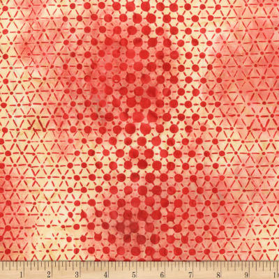 Anthology Batiks Specialty Pop Dots Carmine