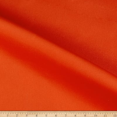 14 Oz. Waxed #10 Cotton Duck Canvas Orange